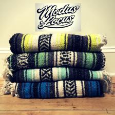 Modus Locus logo Blankets
